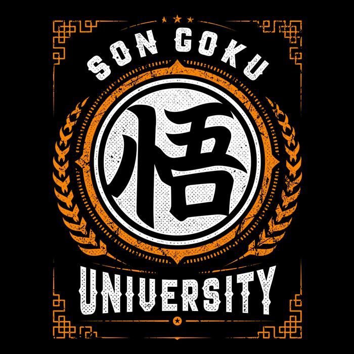 Once Upon a Tee: Son Goku University