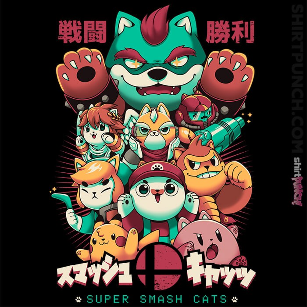 ShirtPunch: Smash Cats