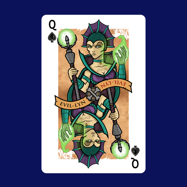 NeatoShop: Villain Playing Card #3