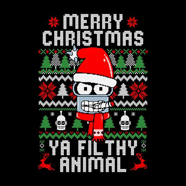 NeatoShop: Merry Christmas Ya Filthy Animal