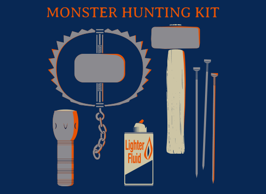 SnorgTees: Monster Hunting Kit