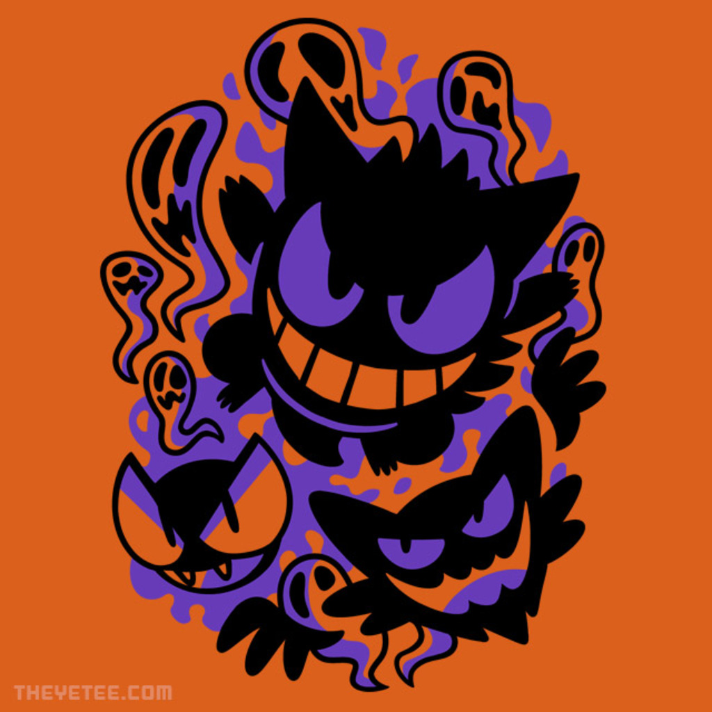 The Yetee: Ghastly Haunting Ghouls