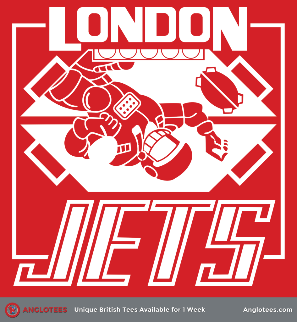Anglotees: London Jets Red Dwarf Tribute