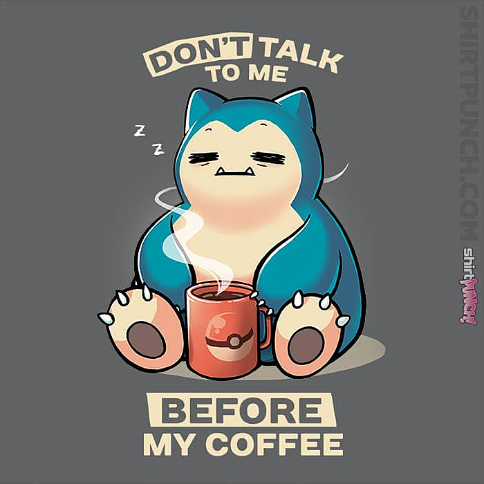 ShirtPunch: Don't Talk To Me