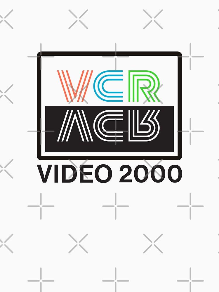 RedBubble: VCR Video 2000