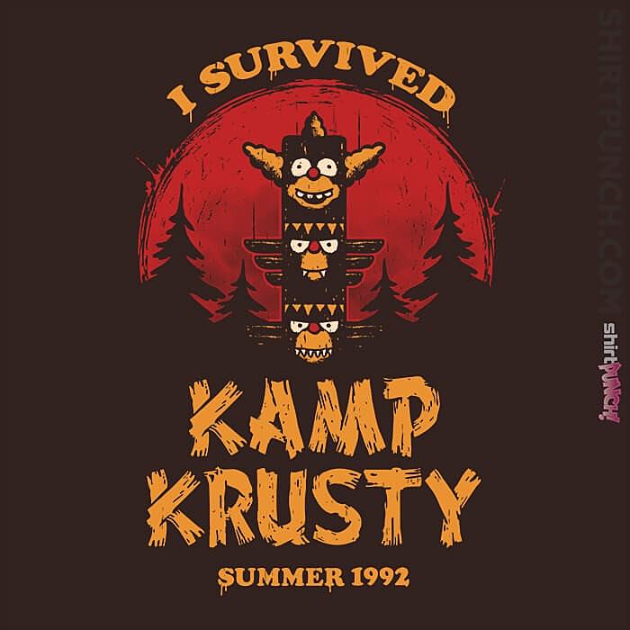 ShirtPunch: Kamp Survivor