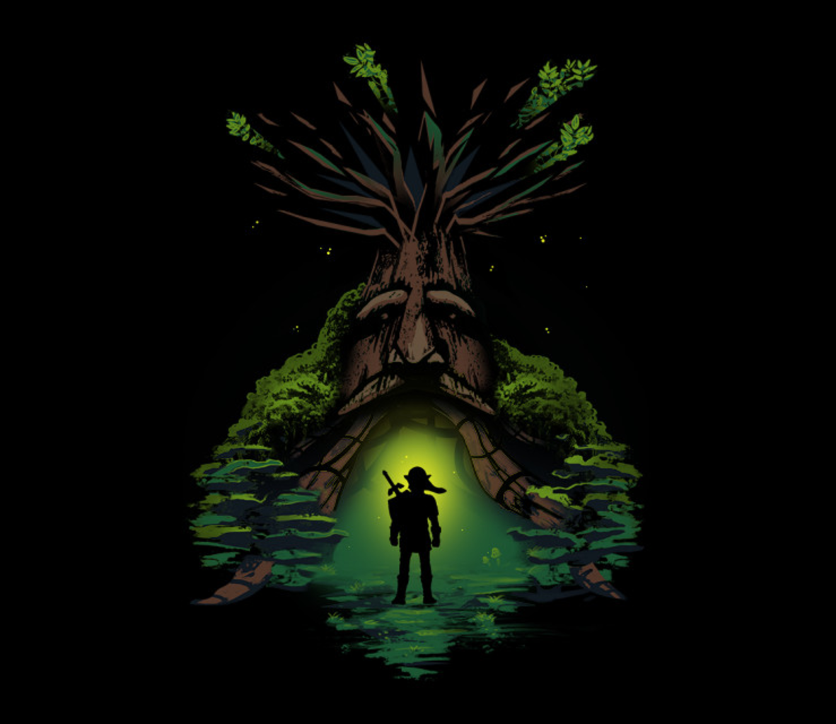 TeeFury: Forest Guardian