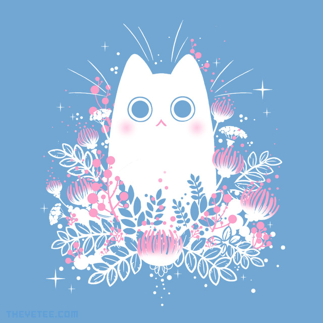 The Yetee: Floral Friend: Peaches