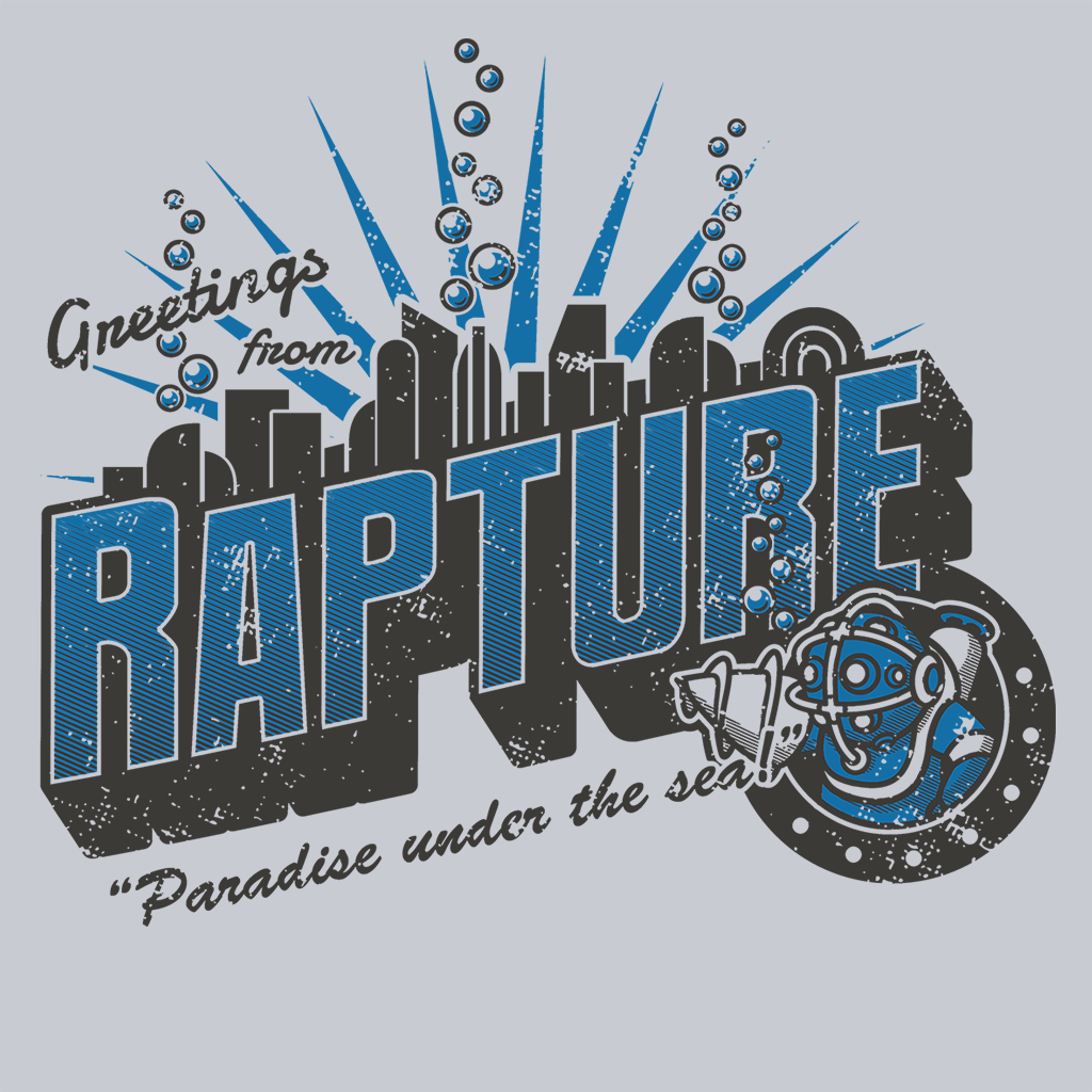Pop-Up Tee: Greetings from Rapture