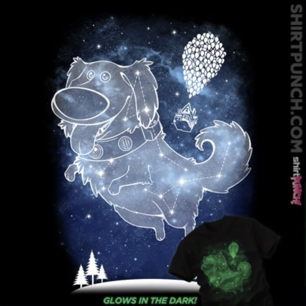 ShirtPunch: Starry Squirrel Sky