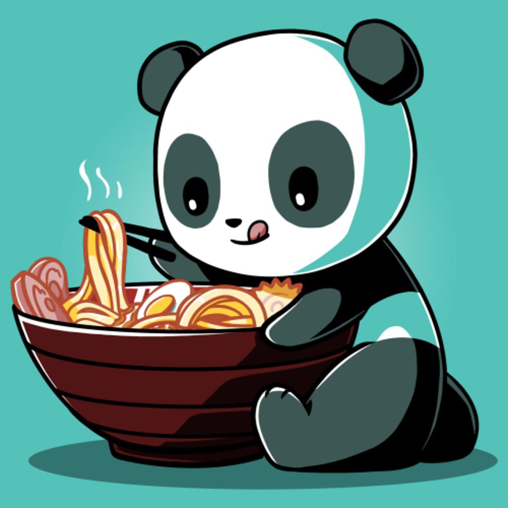 TeeTurtle: Ramen Panda