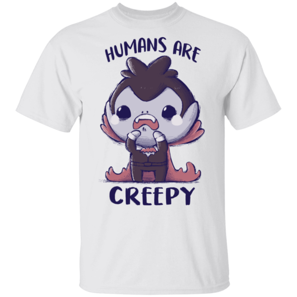 Pop-Up Tee: Creepy Humans
