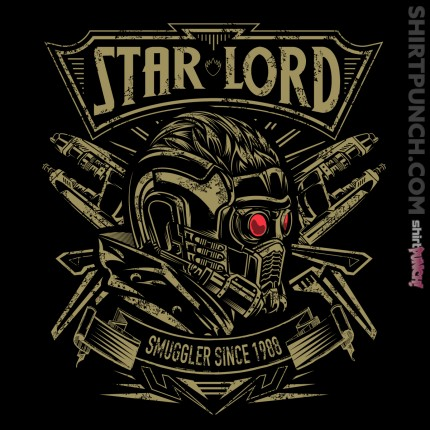 ShirtPunch: Star Lord