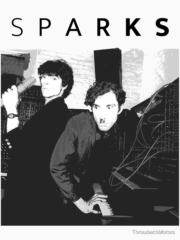RedBubble: SPARKS (BLACK TEXT)