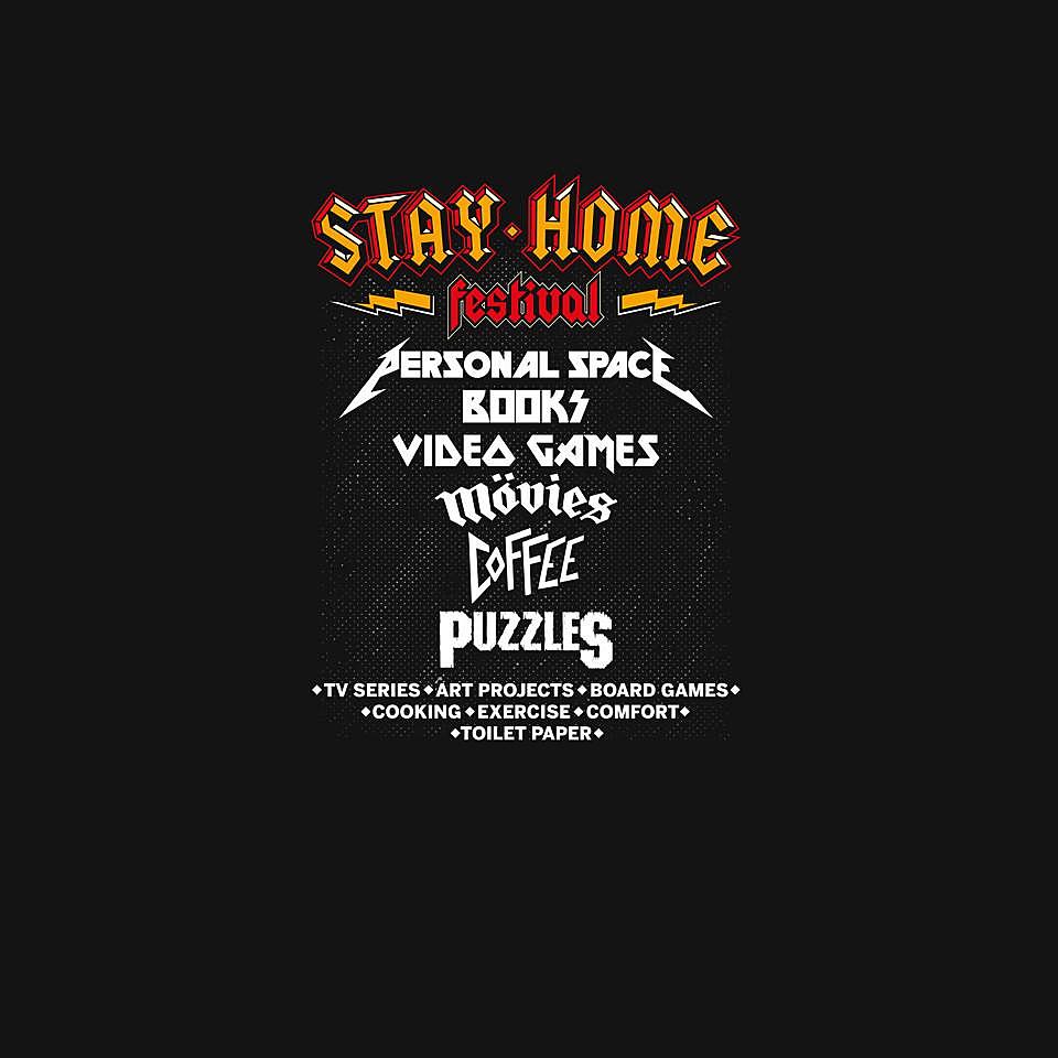 TeeFury: Stay Home Festival