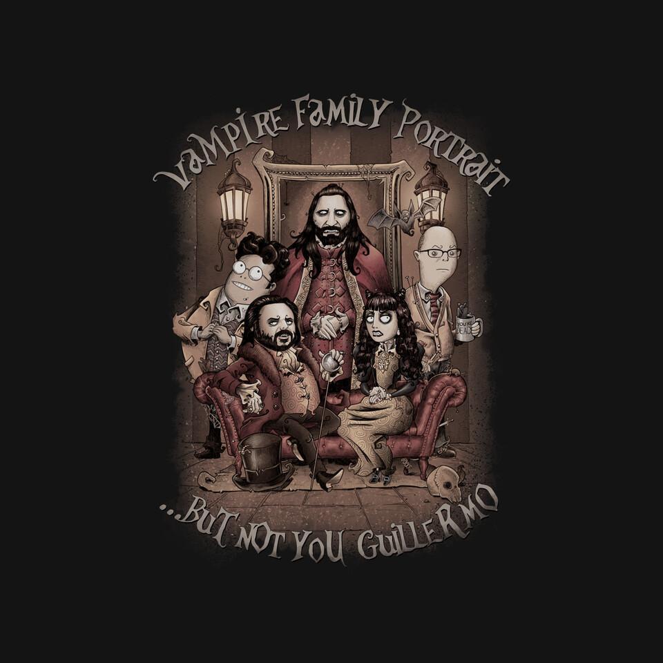 TeeFury: Vampire Family Portrait
