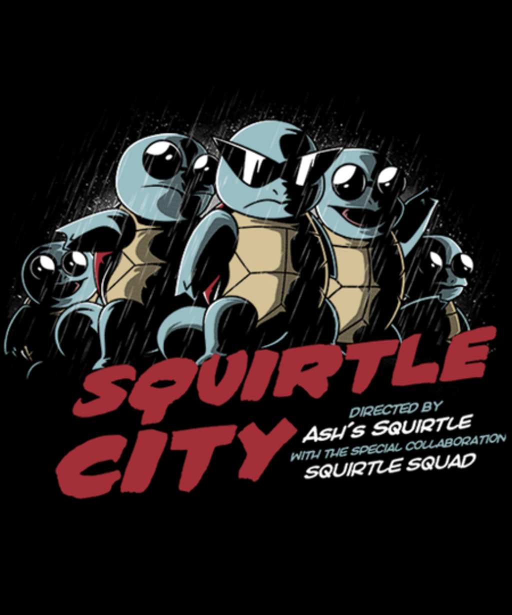 Qwertee: Squirtle City