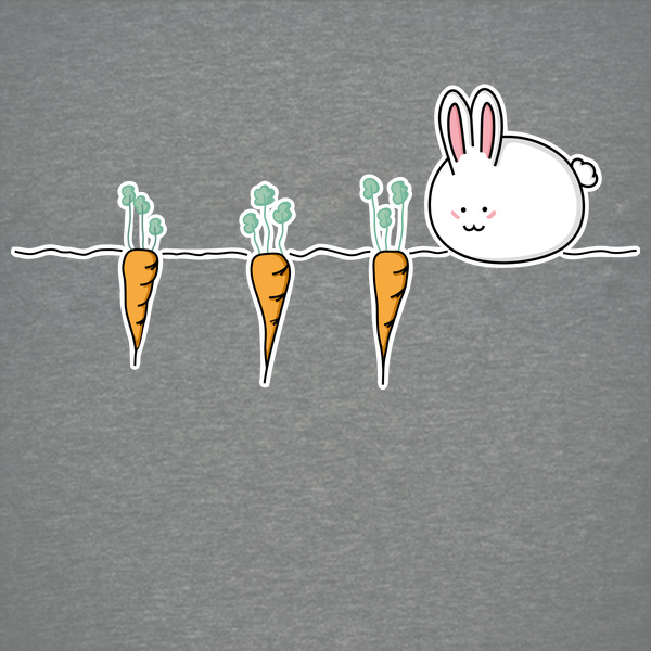 NeatoShop: Cute Kawaii Rabbit and Carrots