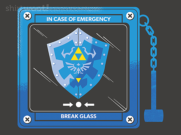 Woot!: In Case of Evil, Bring the Shield
