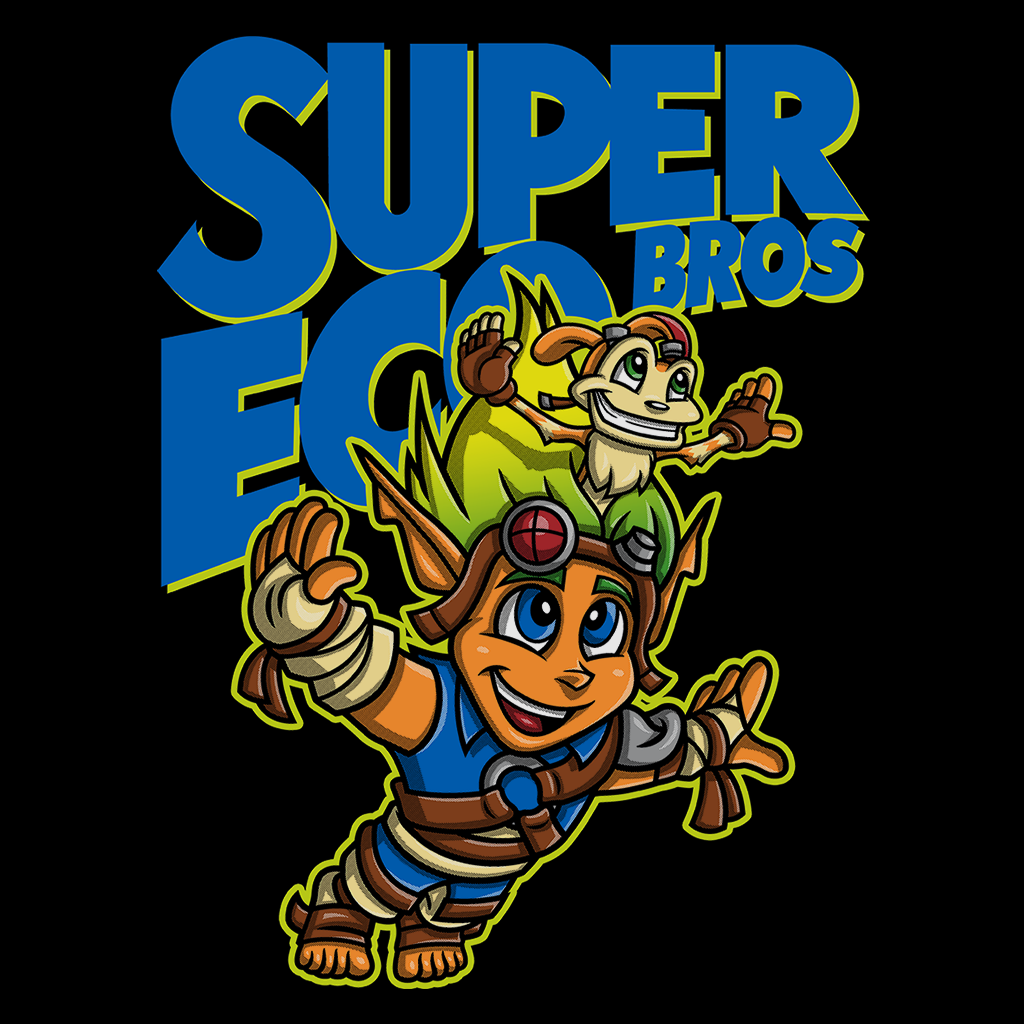 Pop-Up Tee: Super Eco Bros