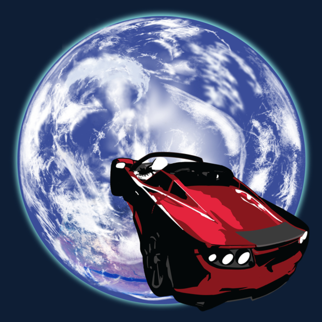 NeatoShop: ROADSTER IN SPACE