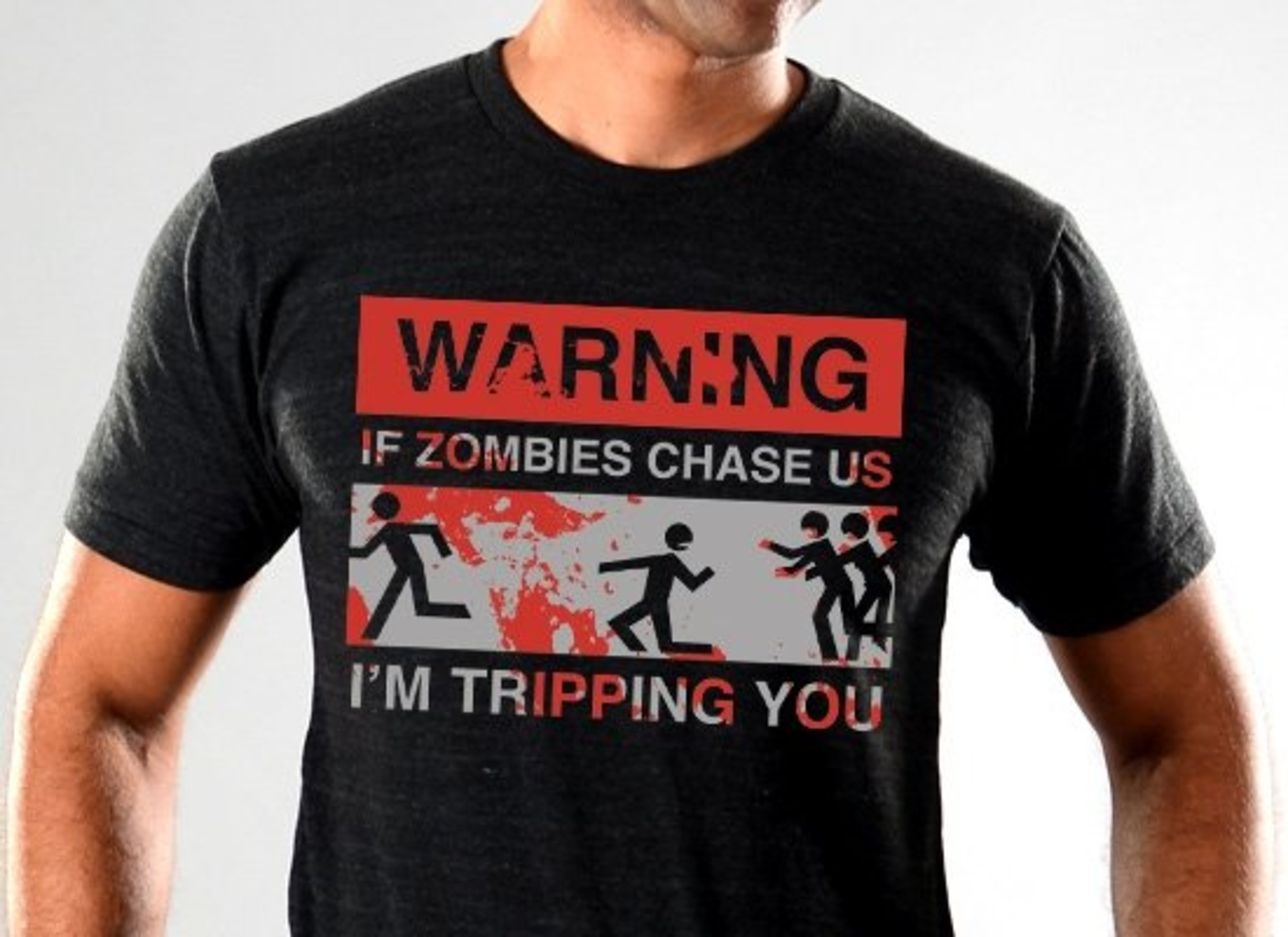 SnorgTees: If Zombies Chase Us Limited Edition Tri-Blend
