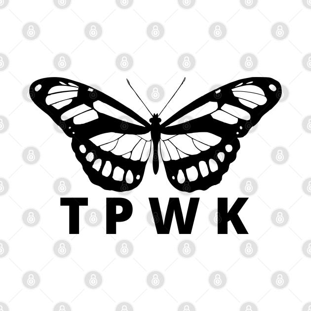 TeePublic: TPWK butterfly