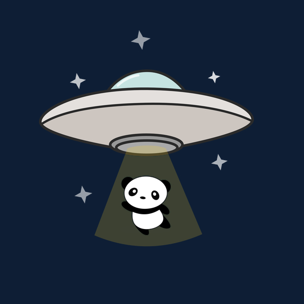 NeatoShop: Aliens Are Abducting Kawaii Panda