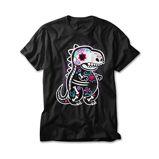 OtherTees: Skeleton t-rex