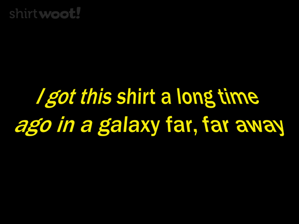 Woot!: Shirt Wars