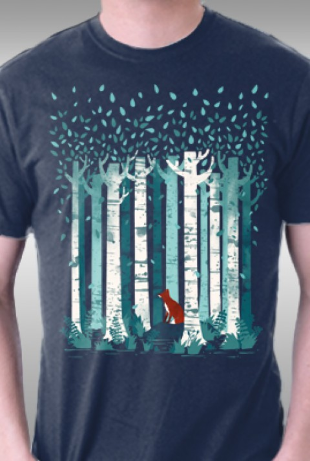 TeeFury: The Birches