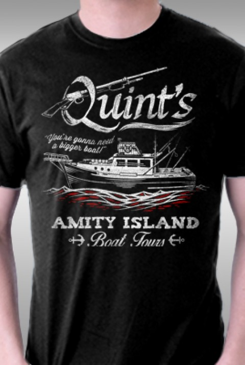TeeFury: Quint's Boat Tours