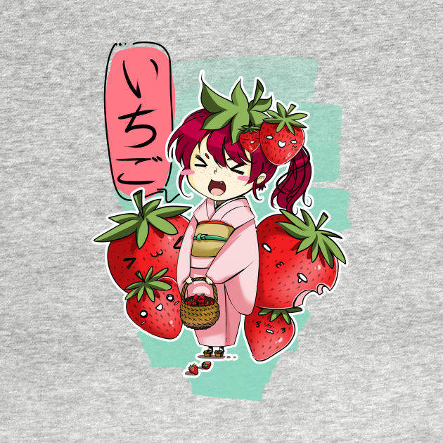 TeePublic: Ichigo time!