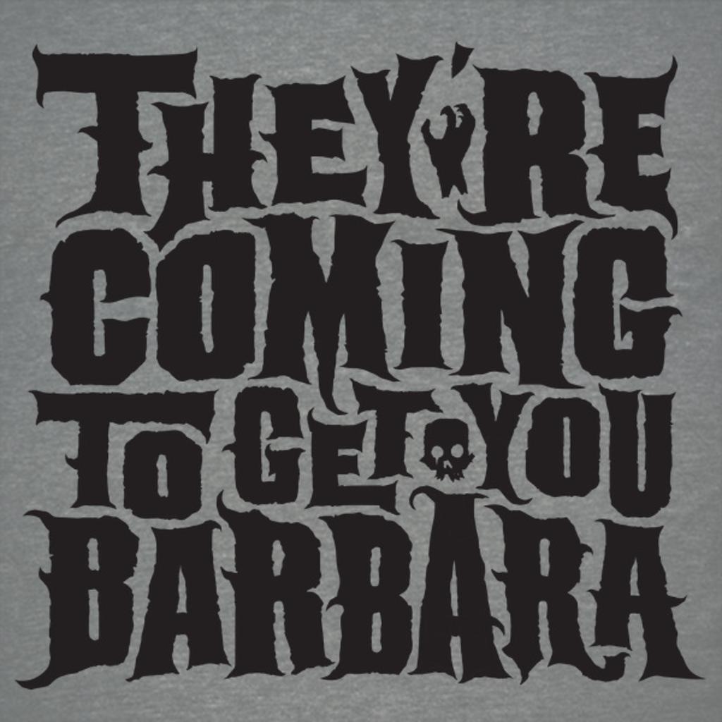 NeatoShop: Barbara (black print)