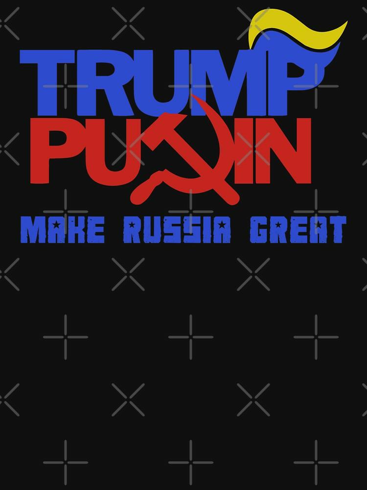 RedBubble: Trump Putin 2016 - Make Russia Great Again