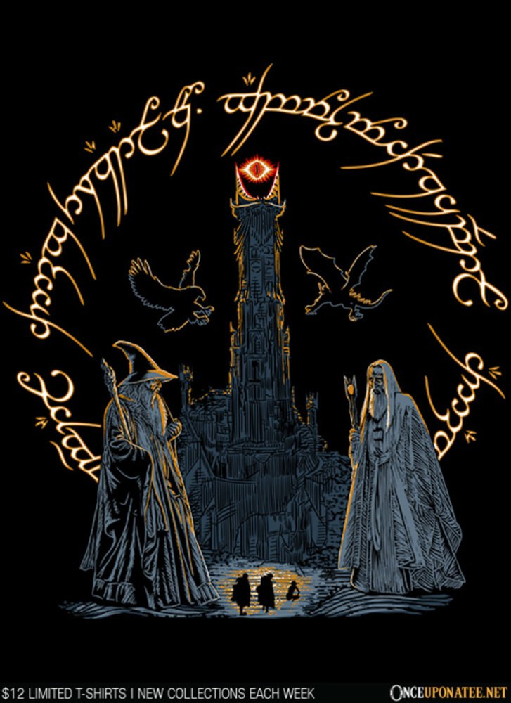 Once Upon a Tee: Journey through Middle Earth
