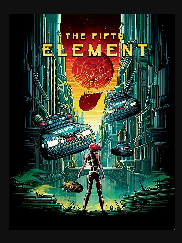 RedBubble: The Fifth Element
