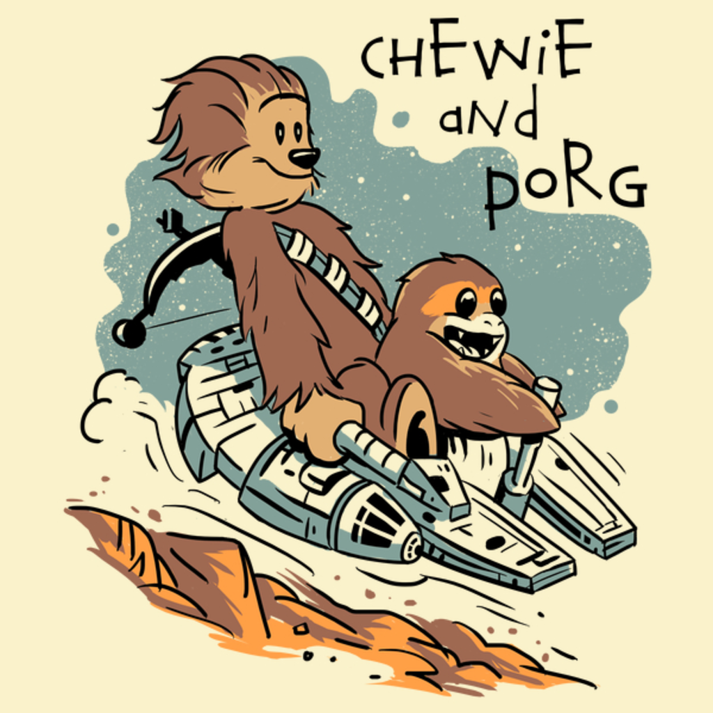 NeatoShop: Chewie and Porg