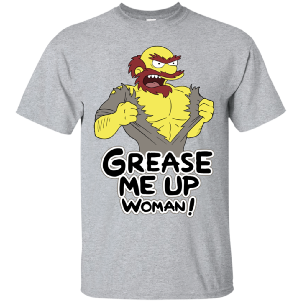 Pop-Up Tee: Grease Me Up