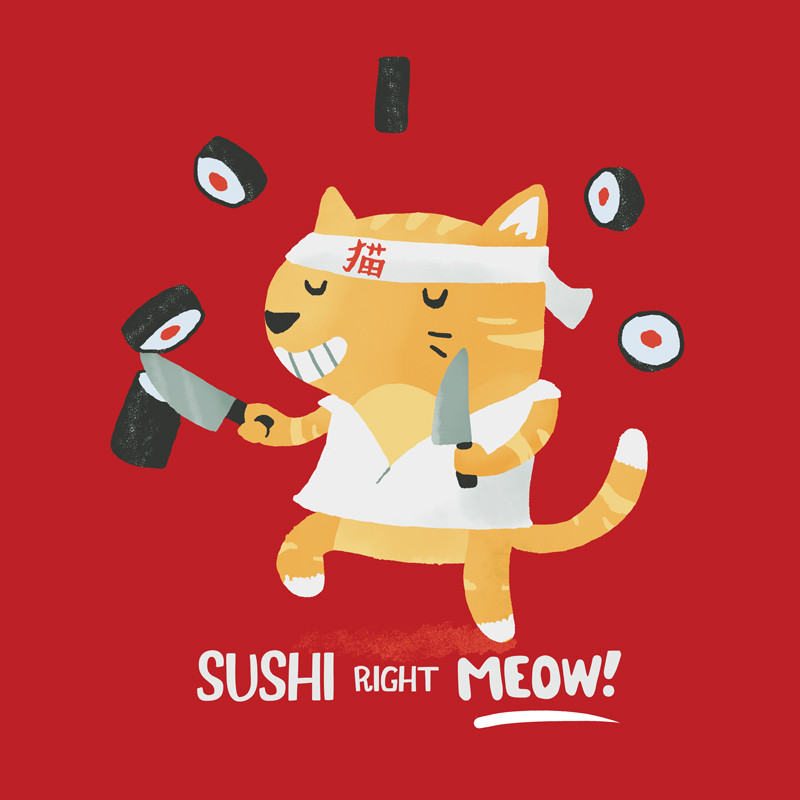 Wear Viral: Sushi Right Meow!