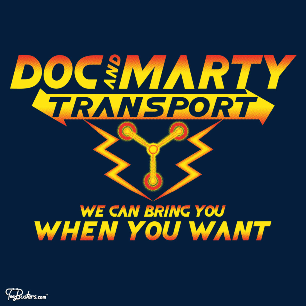TeeBusters: Doc and Marty Transport