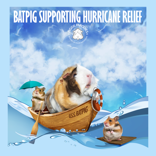 NeatoShop: Batpig Supporting Hurricane Relief