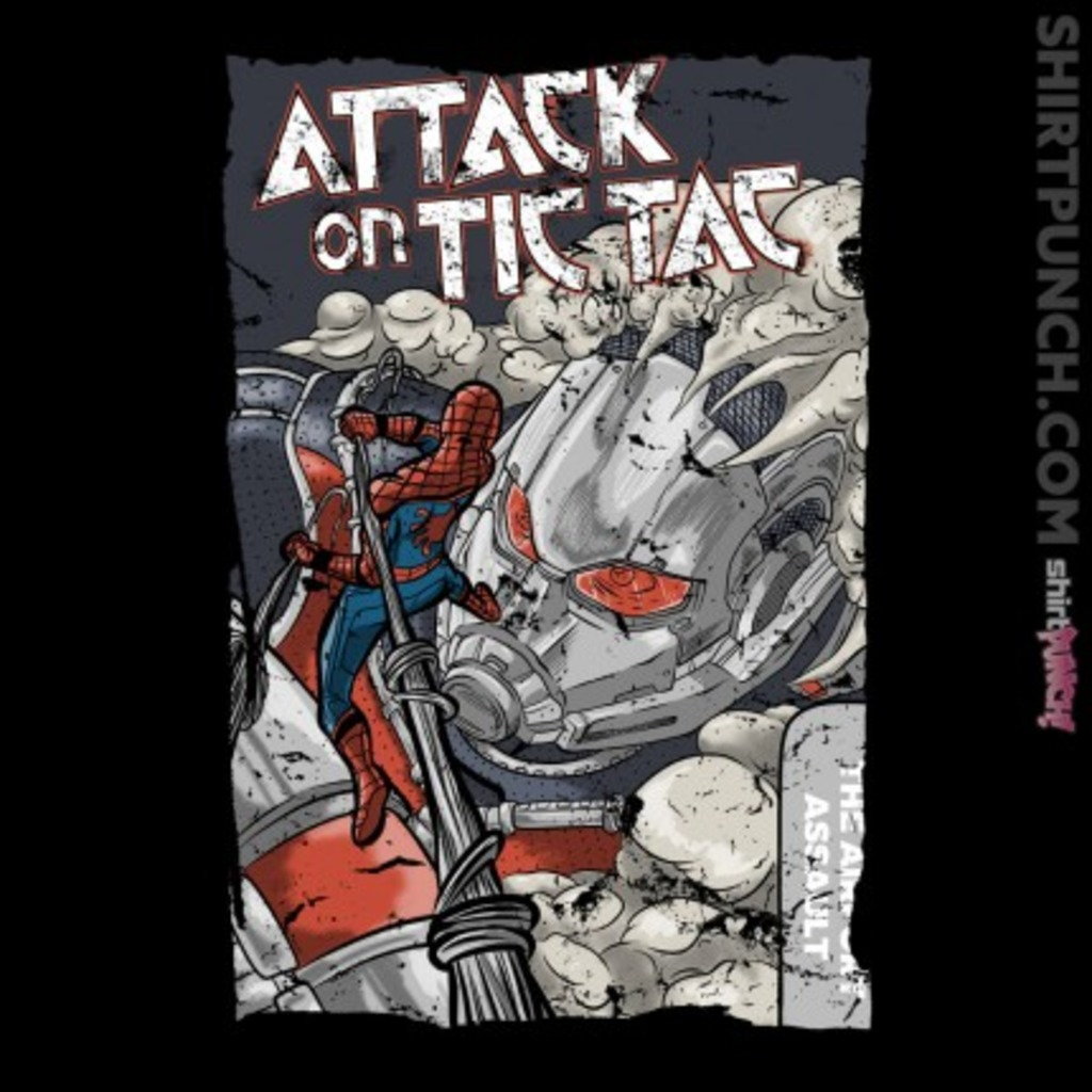 ShirtPunch: Attack on Tic Tac