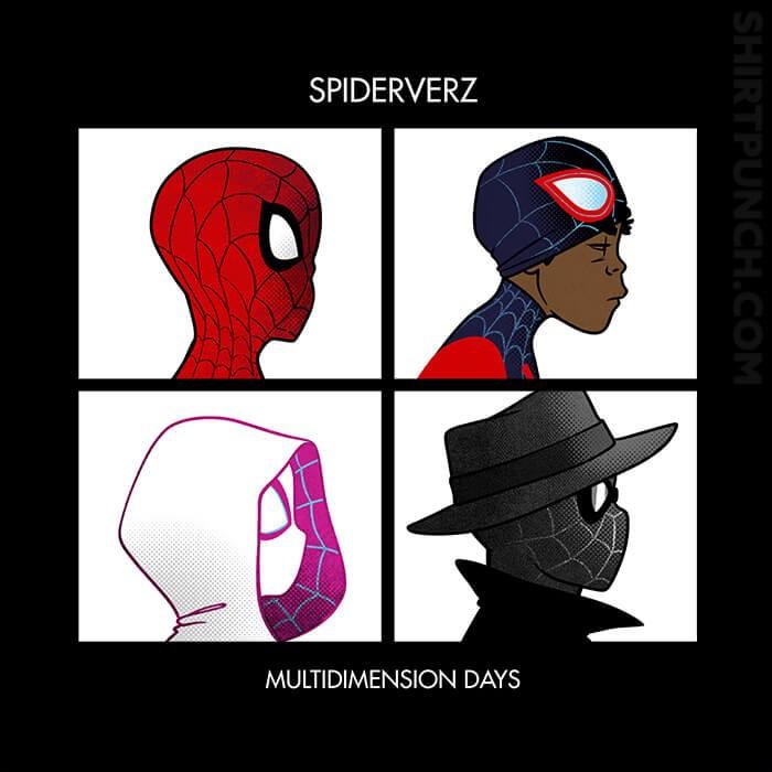 ShirtPunch: Spiderverz