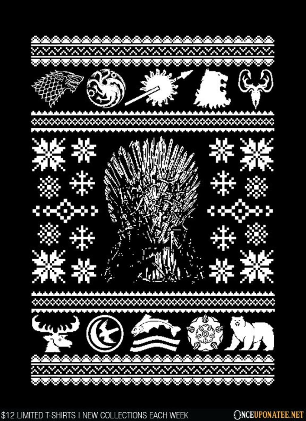 Once Upon a Tee: All I Want for Christmas is Westeros