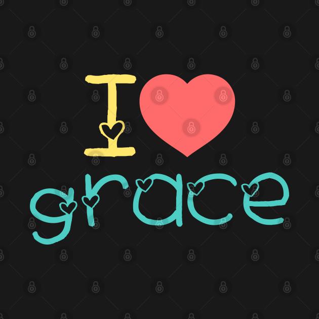 TeePublic: grace