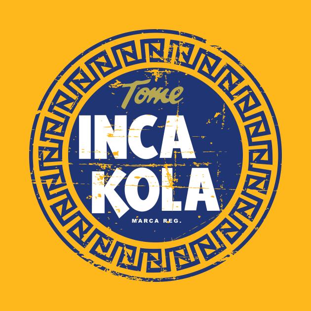 TeePublic: Inca Kola - Vintage Grunge Design - Perú