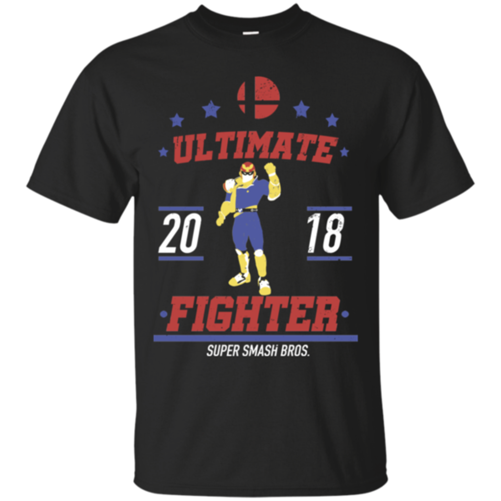 Pop-Up Tee: Ultimate Fighter Captain Falcon