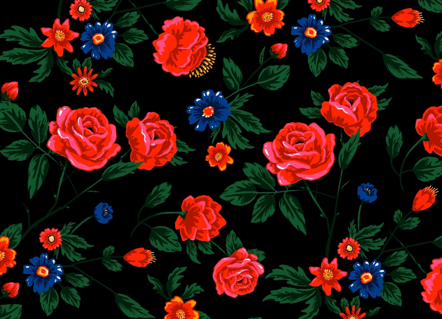 Threadless: Dark Roses