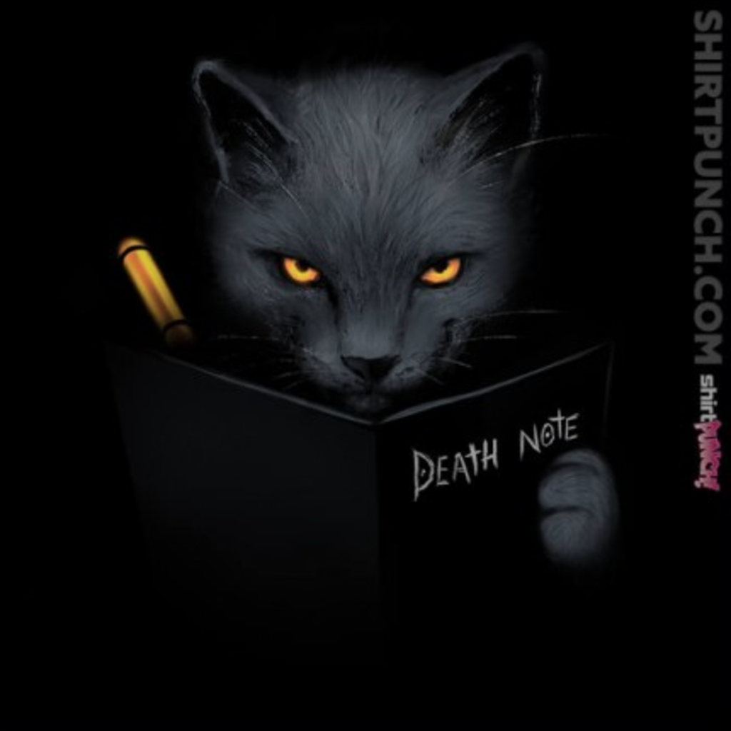 ShirtPunch: Shinigami Cat